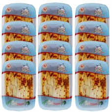 Marinated anchovies with chili pepper in sunflower oil - 200 gr (trays) X 12pcs