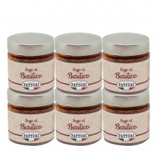 Basil sauce - 185 gr x 6 pcs