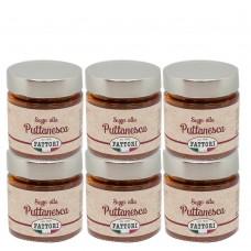Puttanesca sauce - 185 gr x 6 pcs