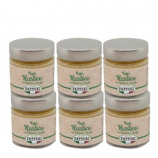 Rustic sauce (white) - 185 gr x 6 pcs
