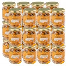 Salted hazelnuts with turmeric 80 gr x 24 pcs