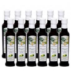 Extra virgin oliveOilbergamot condiment- monocultivar carolea - 100% italian - 0,25l x 12 pcs