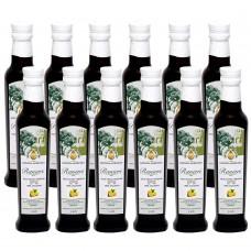 Extra virgin olive oil-monocultivar carolea based lemon dressing - 100% italian - 0,25l x 12 pcs