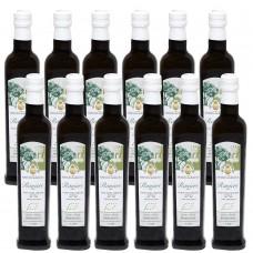 Extra virgin olive oil - organic - carolea monocultivar - 100% italian - cold extract - 0,75l x 6 pcs