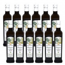 Extra virgin olive oil - monocultivarcarolea –100% italian – cold extract 0.50 l x 12 pcs